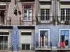 Мозайка на домах Португалии