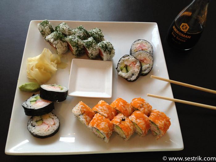 Где поесть в Копенгагене суши