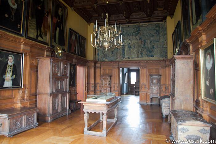 Убранство замка Фредериксборг