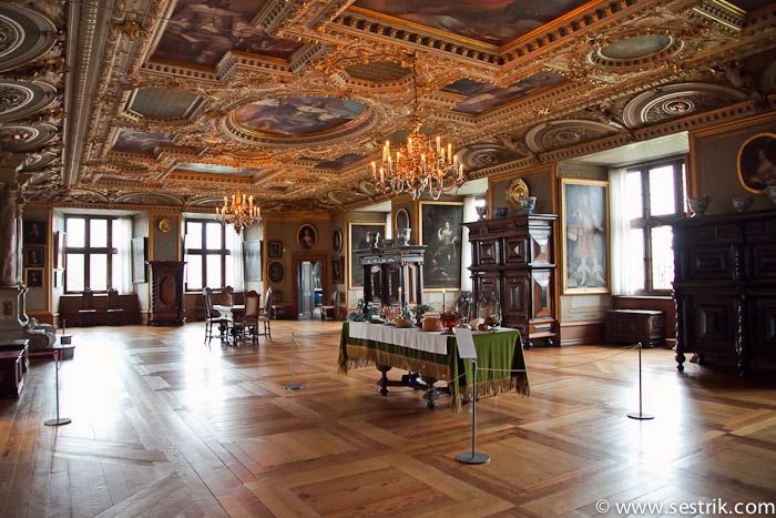 Залы во дворце Фредериксборг