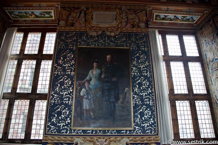 Портрет императорской семьи