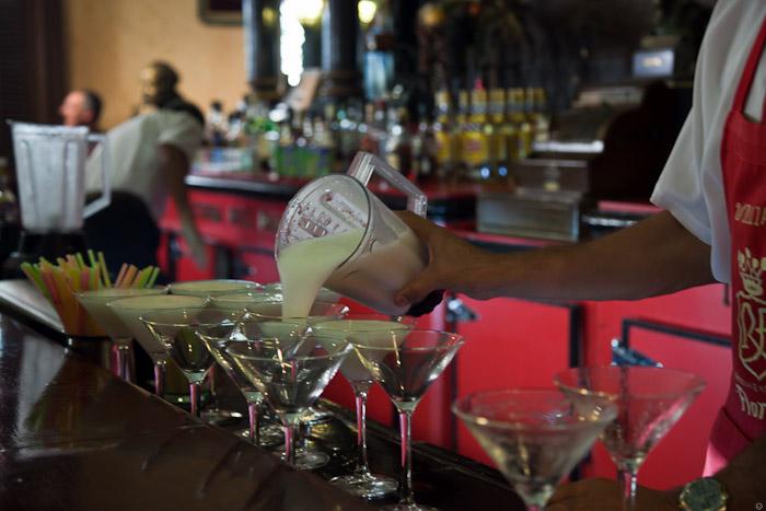 Коктейль дайкири в баре Флоридита