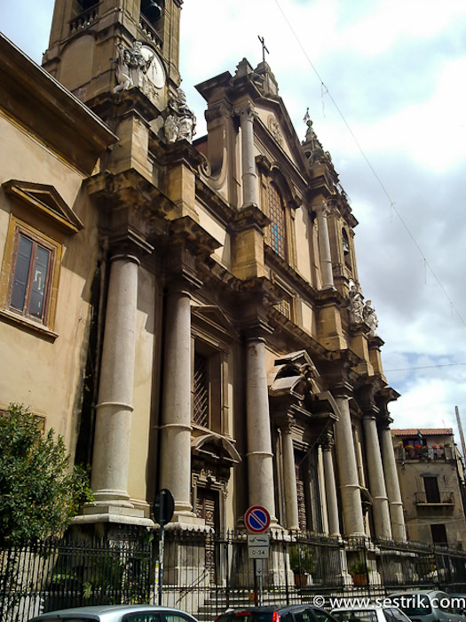 Костел Sant'ignazio all'olivella
