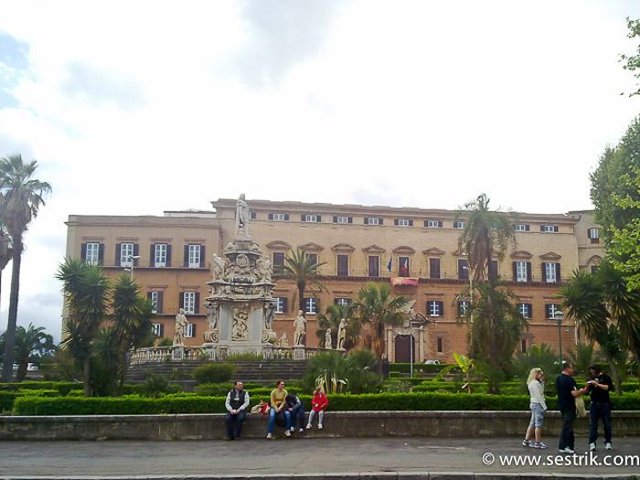 Palazzo dei Normanni, или Нормандский дворец