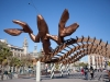 Скульптура креветки