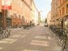 Велосипедная парковка на улице