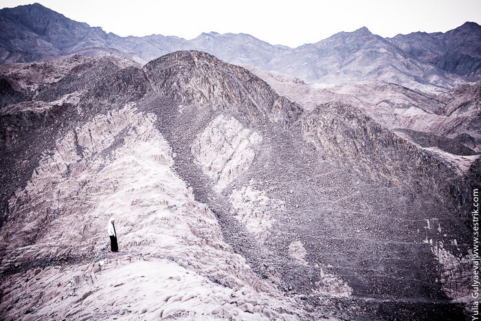бедуин в горах синая