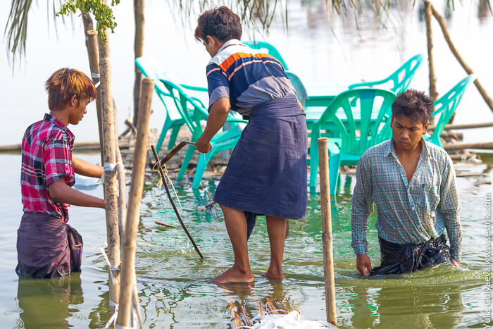 сонгкран в мьянмар