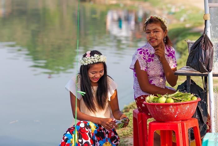 жители бирмы