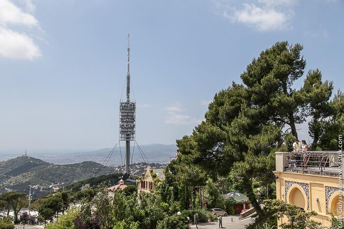 Телебашня Барселона