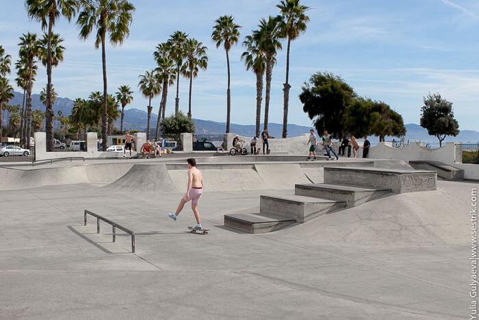 скейтеры в калифорнии