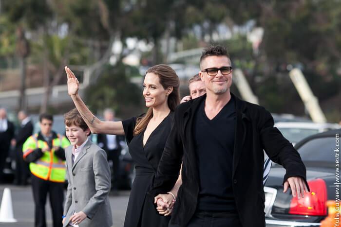 Анджелина Джоли и Бред Пит