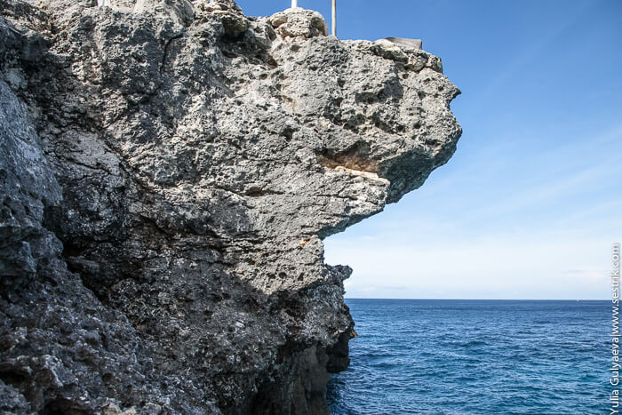 скала с которой можно прыгнуть