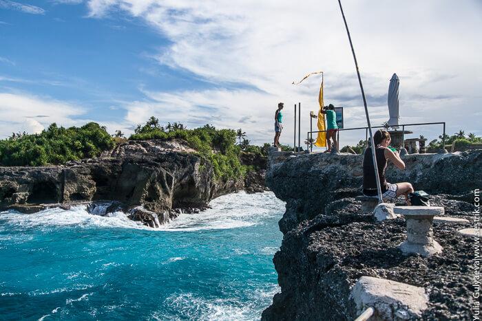 джампинг на острове лембонган
