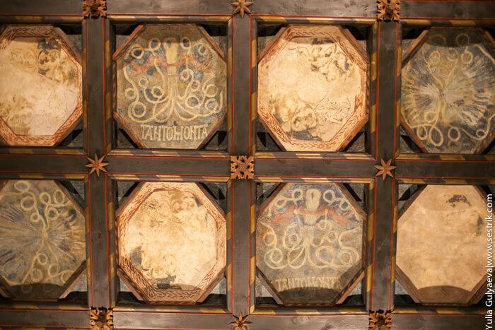 потолки в альхаферии