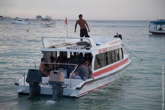 лодка на лембонган