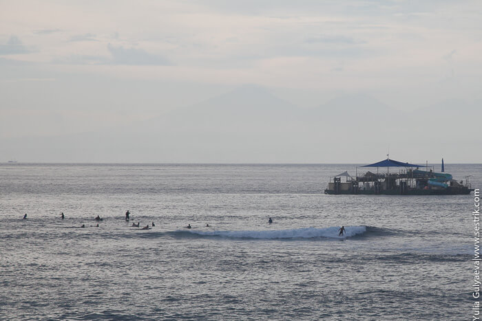серфинг на лембонгане