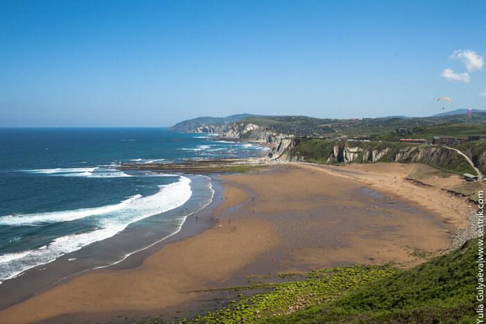 пляж сопелана