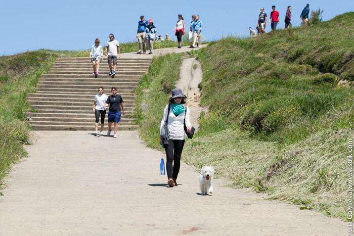 прогулки по пляжам страны басков