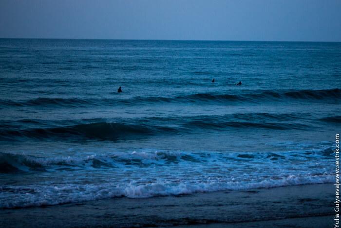 серфинг в сарауц