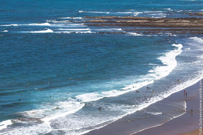 серфинг и испании