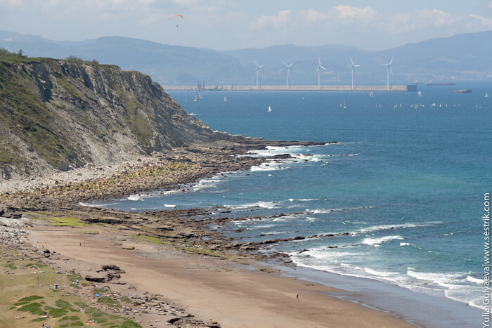 пляж арригунага
