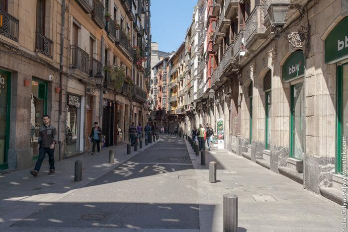 улицы в бильбао