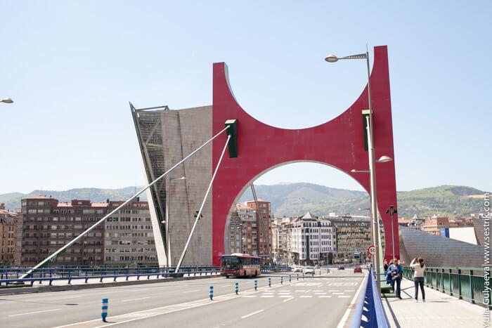 мост в бильбао