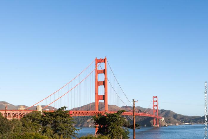 мост золотые ворота в сша