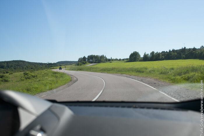 дорога до карелии