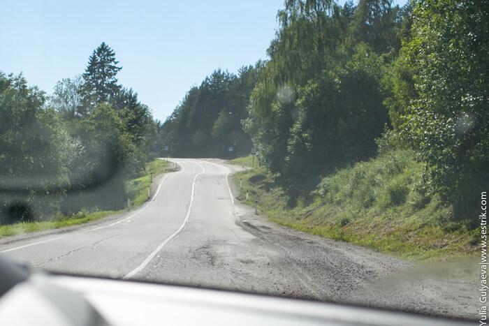 дороги в районе сортавалы