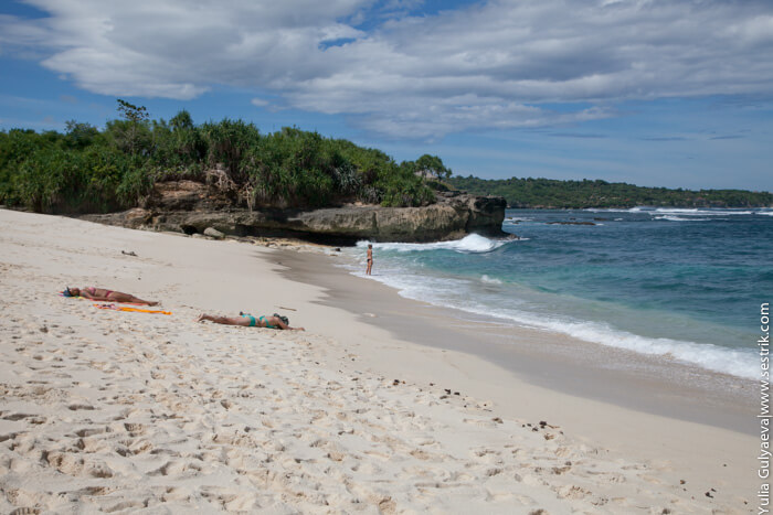 пляж дримбич лембонган