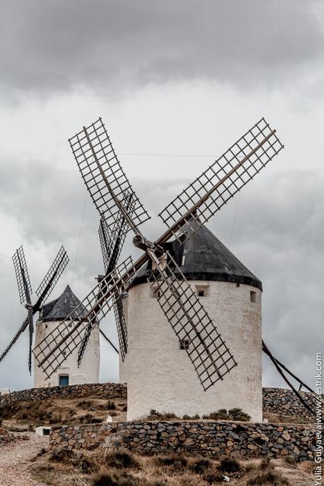 ветряные мельницы в испании