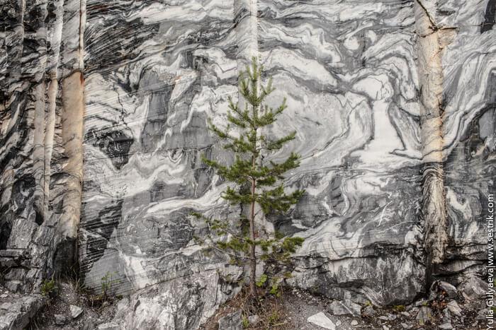в мрамрном каньоне
