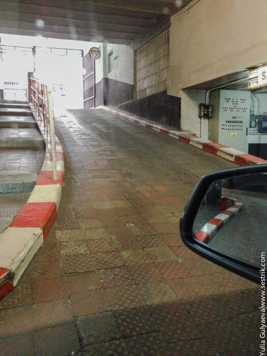 парковка в мадриде