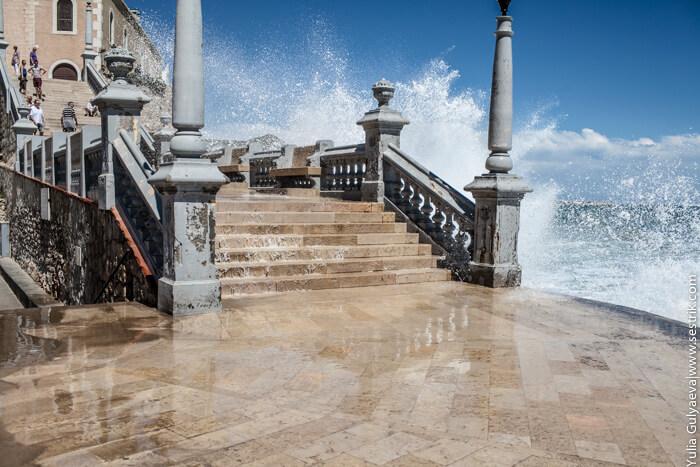 волны о ступени