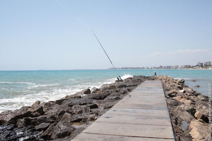 рыбалка в беникассиме
