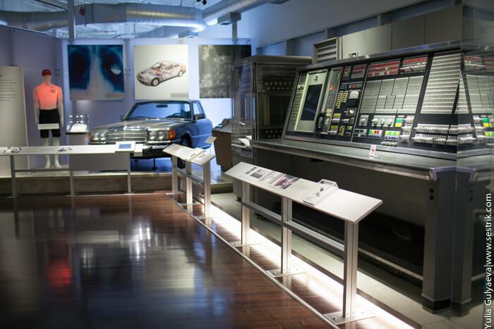 в музее компьютеров