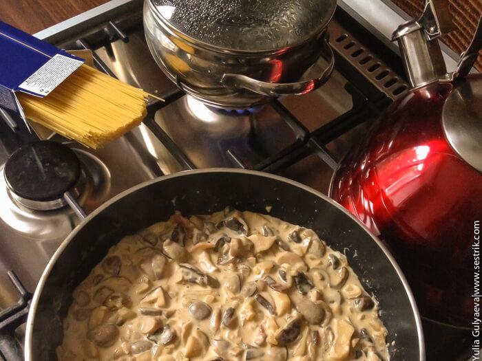 как приготовить жареные грибы
