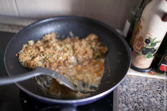 приготовление азиатской лапши
