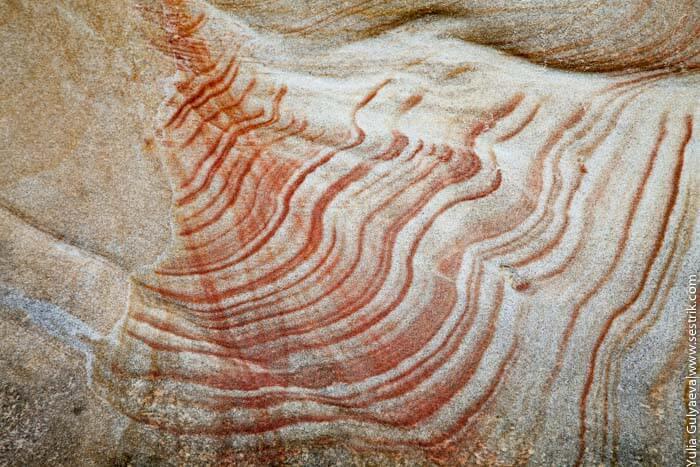 нерукотворные рисунки на камнях
