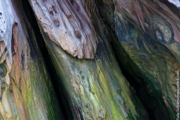 красивые цветные камни