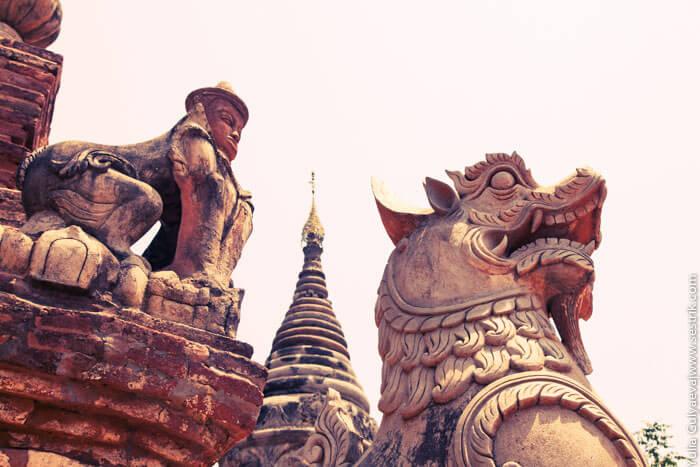 старая столица бирмы инва