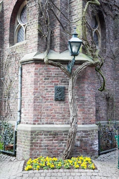 внутренний двор собора в кевелар