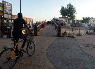 Велосипедист в Дахабе