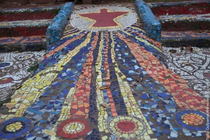 мозаичный двор на фонтанке