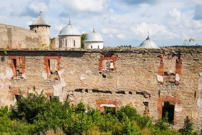 крепость в ивангороде как выглядит