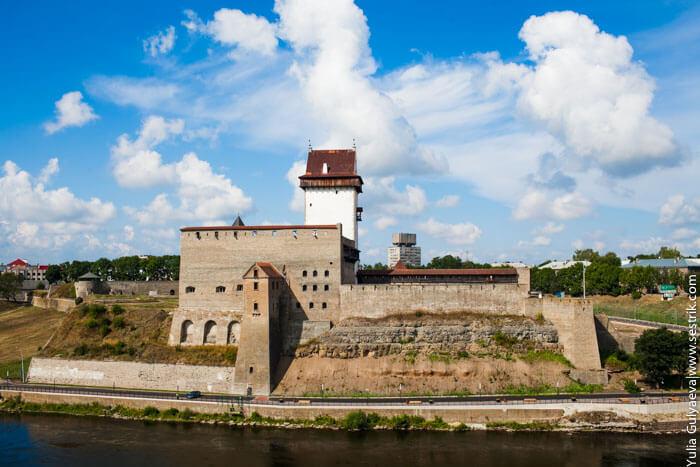 крепость нарва