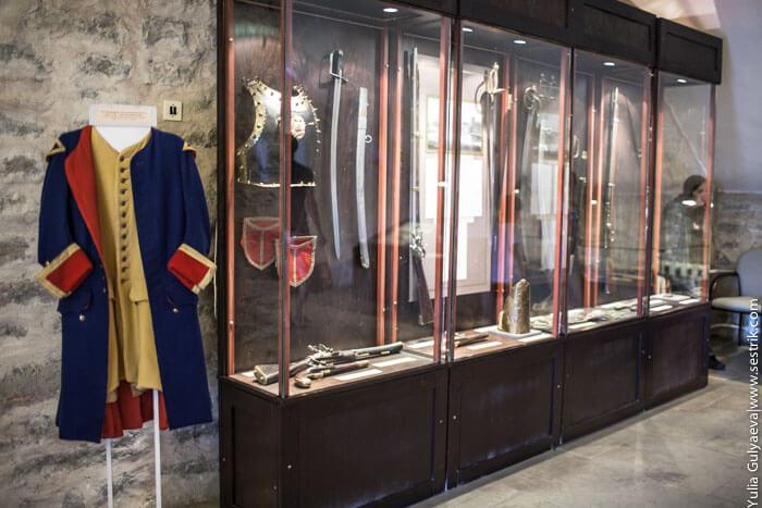 мундиры армии петра в нарвском музее