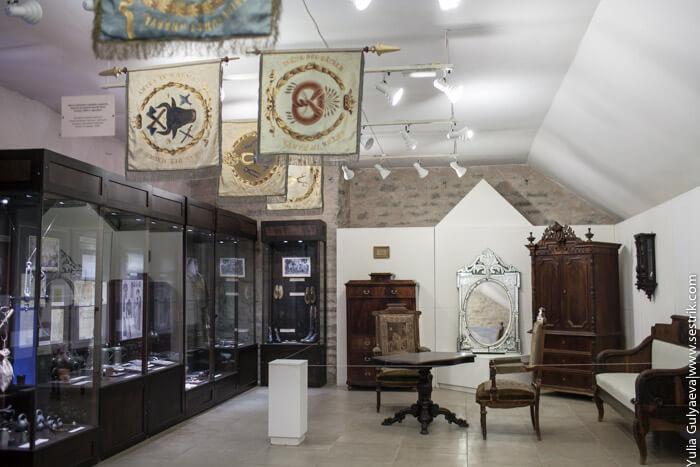 экспозиция в нарвском музее